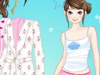 Pyjama aankleden
