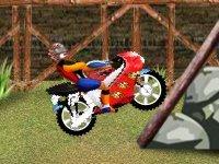 The biker feats