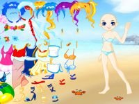 Beach dressup