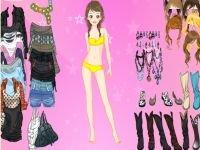 Pink star dress up