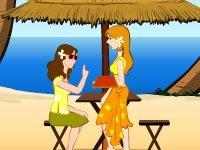 Strand serveerster