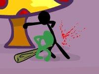 Stick brawl